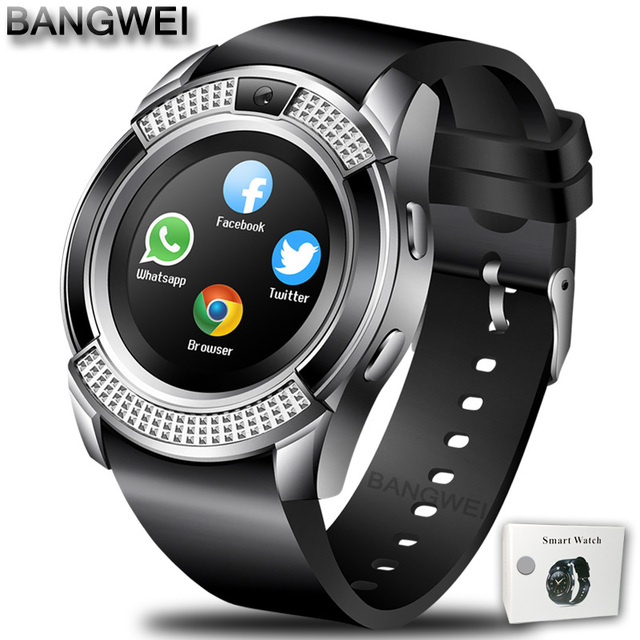 Silver black Smartwatch android 5c649caf6f148