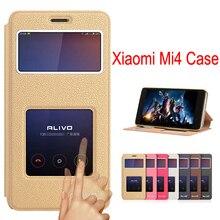 Для xiaomi mi 4 case fundas кожи сальто case для xiaomi mi4 оригинальная крышка телефона случаях