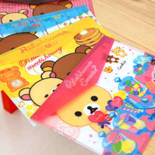 320*220mm New Korea Cute Cartoon series File bag PVC waterproof Filebag DIY Stationery bag office school supplies