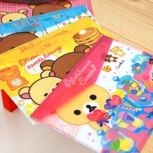 320*220mm New Korea Cute Cartoon Series File Bag PVC Waterproof Filebag DIY Stationery Bag Office School Supplies