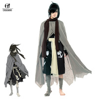 ROLECOS Dororo Cosplay Costume Hyakkimaru Cosplay Kimono Janpnese Men Costume Anime Halloween Cloak Full Sets
