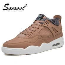 Men Shoes High Top Sneakers For Winter Shoes Warm Casual Shoes Mens Plus Size 39-44 Mocassin Homme Designer Krasovki Men QX3