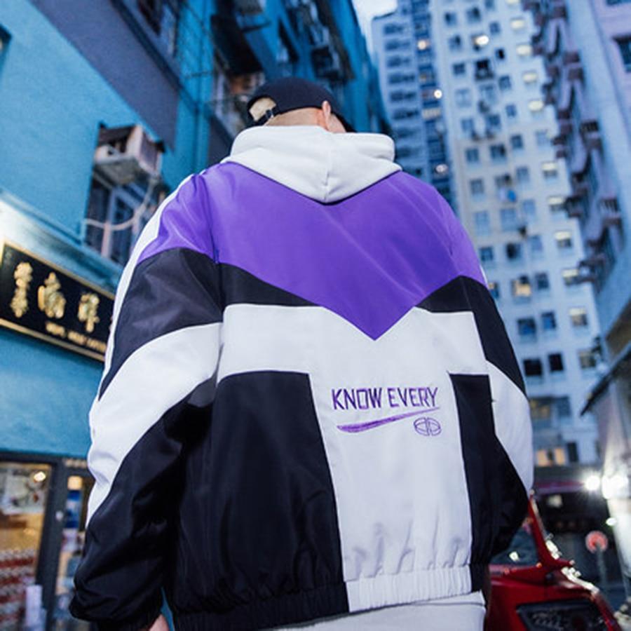 a8af096f046f Autumn Jacket Men Baseball Plus Size Spring Japanese Streetwear Bomber  Jacket Hip Hop Coat Mens Overcoat Korean Clothes 50Na002