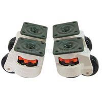 4PCS Set Swivel Heavy Duty Machine Levelling Castors Wheels 40MM