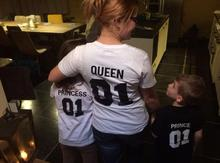Family Matching TShirts For King,Queen, Little Prince & Little Princess