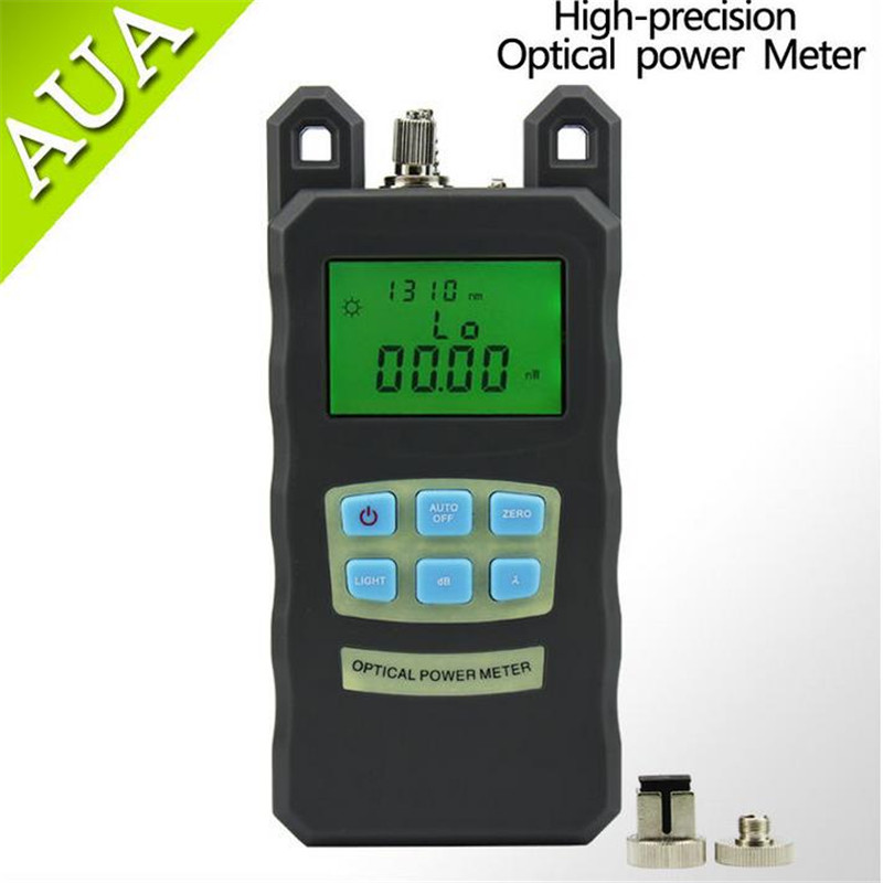 Optisk Fiber Power Meter -70dBm ~ + 10 dBm Fiber Optic PowerAnd 30mW - Kommunikationsutrustning - Foto 2