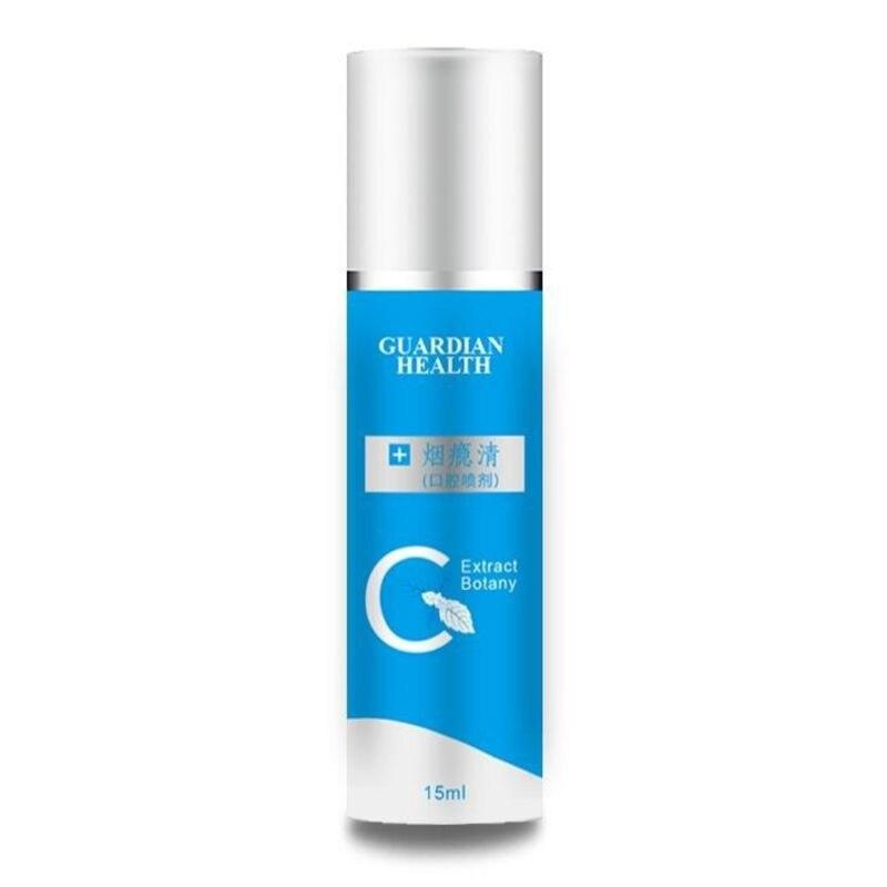 Mouth Oral Spray Quit Smoking Anti Smoke Bad Breath Freshener Treatment Herbal