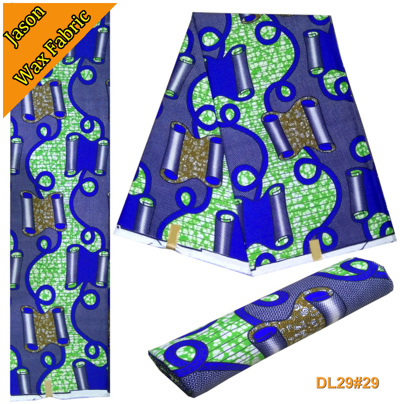 Porpular design veritable wax super wax prints veritable african wax block fabric Polyester 6 yards for sewing party dress LBL