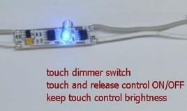20pcs-25pcs/lot Low voltage Touch dimmer switch for LED aluminum profiles 20pcs lot sud50p04 08 50p04 08 to252