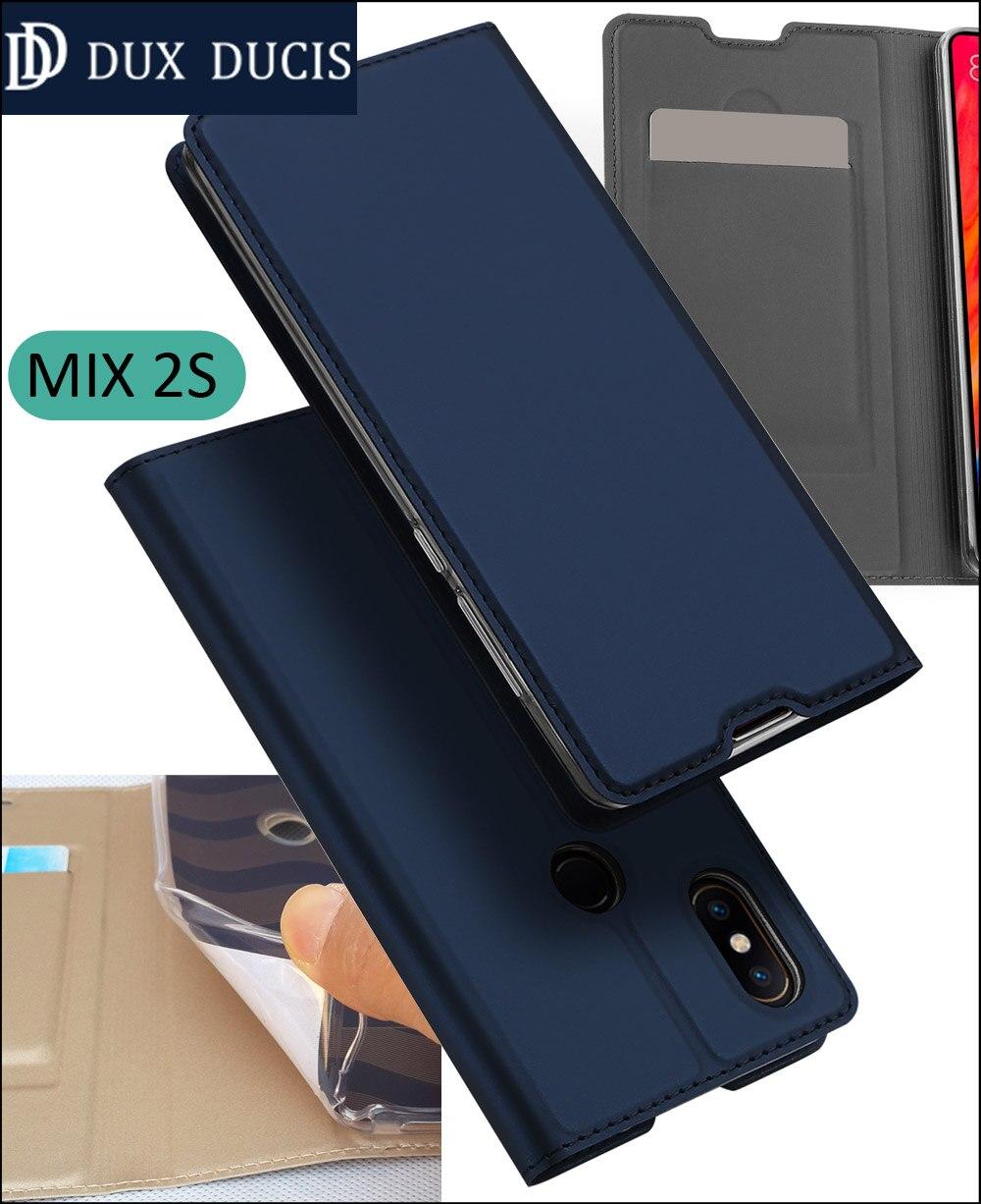 D'origine DUX DUCIS Cas Couverture Pour Xiao mi mi mi x 2 s FLIP book portefeuille En Cuir Coque Mi X2S