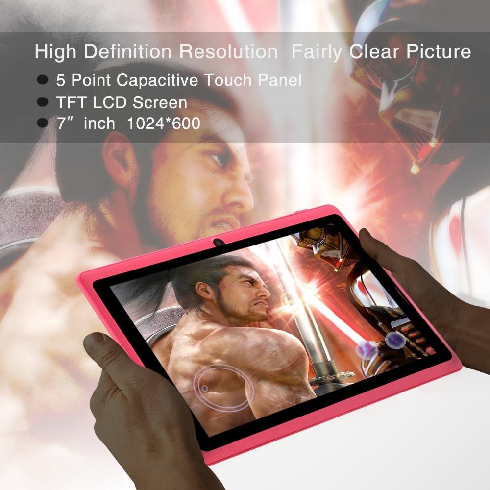 Nuevo 7 pulgadas diseño Original Android 8,0 Quad Core 1G + 8G Android Tablet pc WiFi Bluetooth GPS IPS tabletas - 5