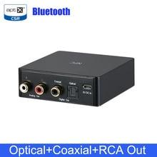 Adaptateur récepteur Audio sans fil NFC Bluetooth 4.2 récepteur de musique stéréo Portable sortie RCA coaxiale optique compatible NFC