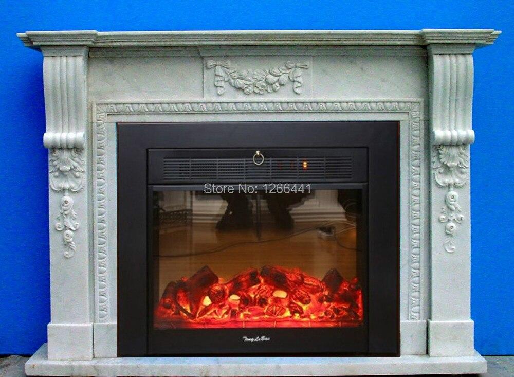 piedra natural de mrmol marco de repisa de la chimenea chimenea de estilo elegante simple ingls