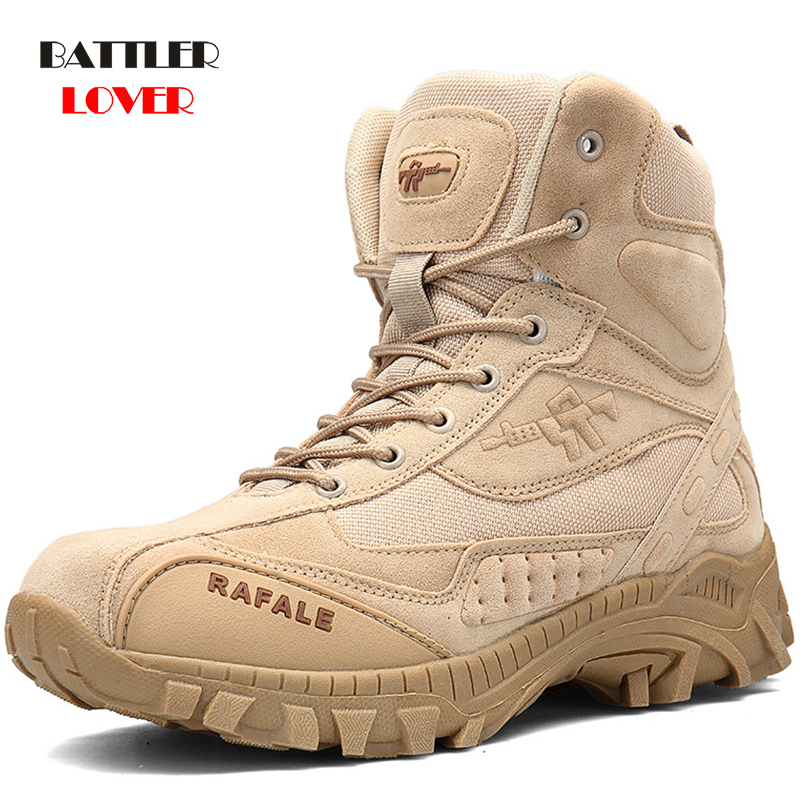 Winter Military Boots Men 2019 Fashion Army Boots Men