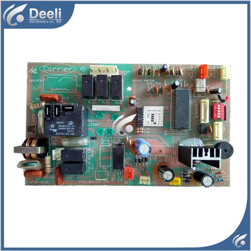 95% new good working 95% new for Carrier Air conditioning computer board KDK-KFR-48L KF(R)-0200L PC board good working 95% new used for air conditioning computer board gal0411gk 12aph1 rj0302 gal l29 pc board good working 2pcs set