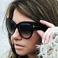 AFOFOO Мода Cat Eye Солнцезащитные Очки Люксовый Бренд Дизайнер Старинные Негабаритных Женщин Солнцезащитные Очки UV400 Оттенки Солнцезащитные Очки Óculos Де Золь