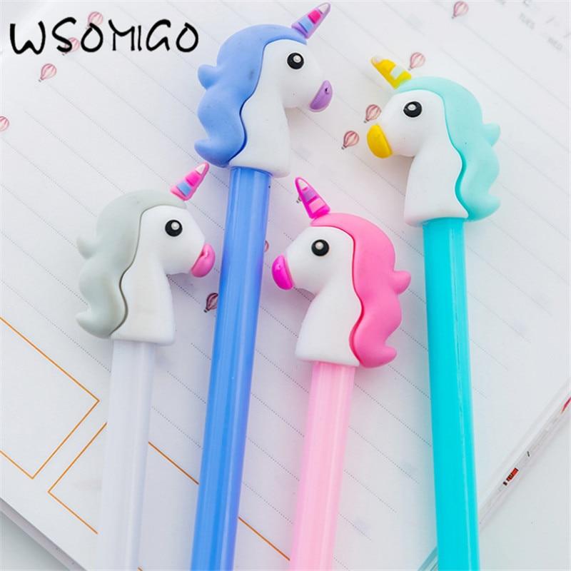 Wedding Gift Ideas For Kids: Aliexpress.com : Buy 4pc Unicorn Black Pen Wedding Gifts