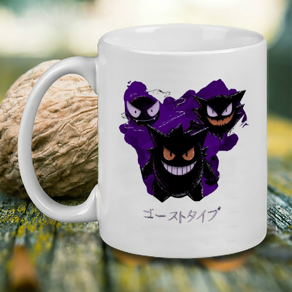 Poison Monsters Mugs Pokemon Mugs Beer Ceramic Novelty Porcelain Beer Tea Mugs image