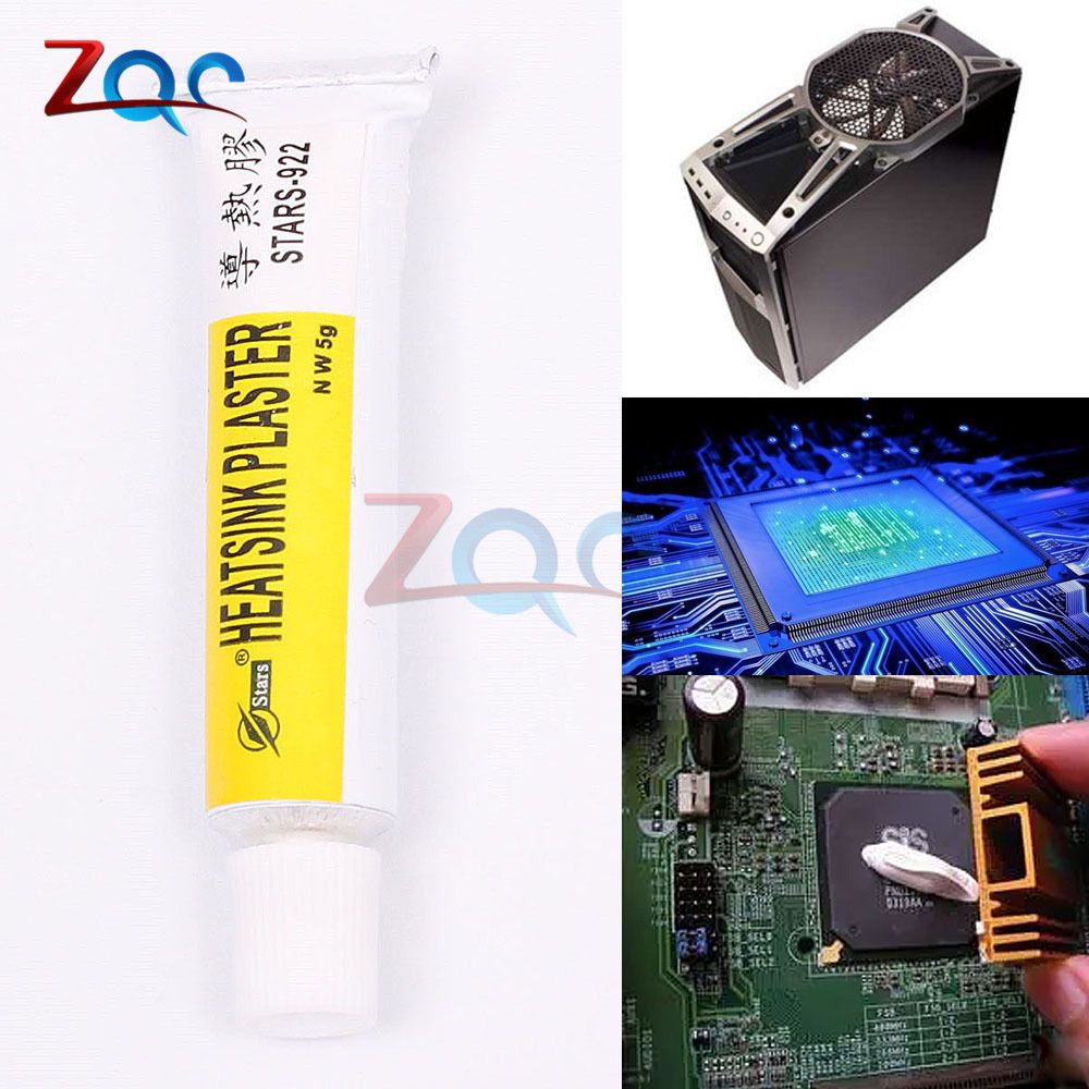 2pcs STARS-922 Heatsink Plaster Thermal Silicone Adhesive Cooling Paste Strong Adhesive Compound Glue For Heat Sink Sticky ST922 jeyi cooling warship copper m 2 heatsink nvme heat sink ngff m 2 2280 aluminum sheet thermal conductivity silicon wafer cooling