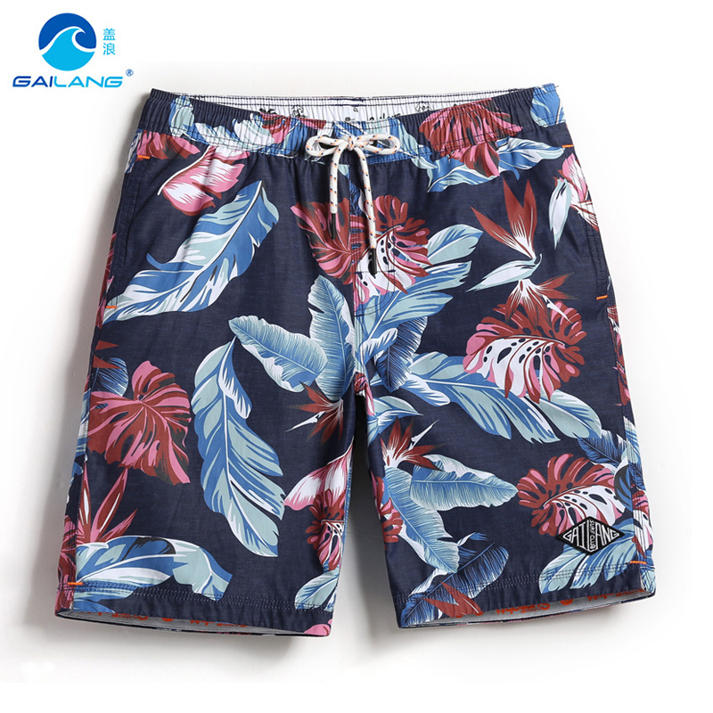 Men's navy   board     shorts   quick dry surfboard swimwear hawaiian bermudas liner joggers briefs swimsuit loose trunks mesh
