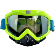 Motorcycle Motocross Ski Glasses Goggle With Nose Guard UV Protection Motorcycle Goggles Eyewear Glasses
