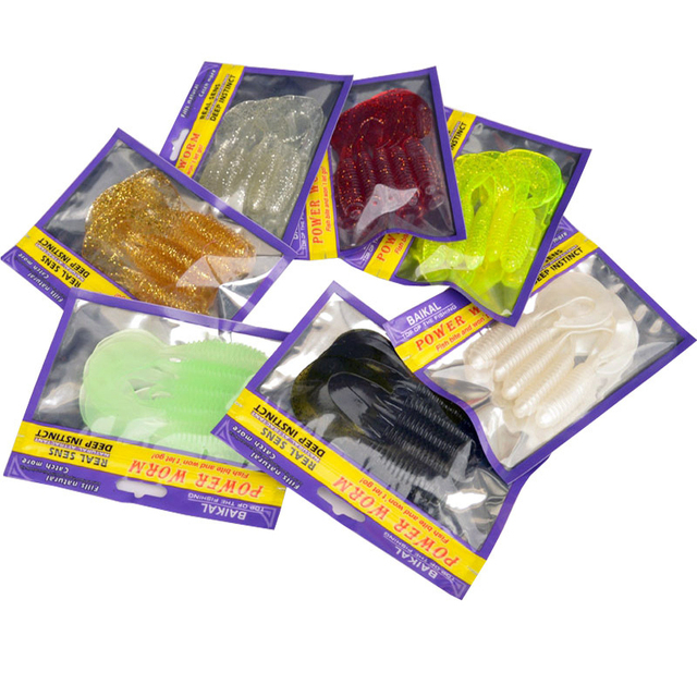Aliexpress com : Buy Fishing Soft Lure Bait 10cm Single Tail Grub 5 Pieces  Bag Bighead Fish Fresh&Salt Water Catch from Reliable lure bait suppliers