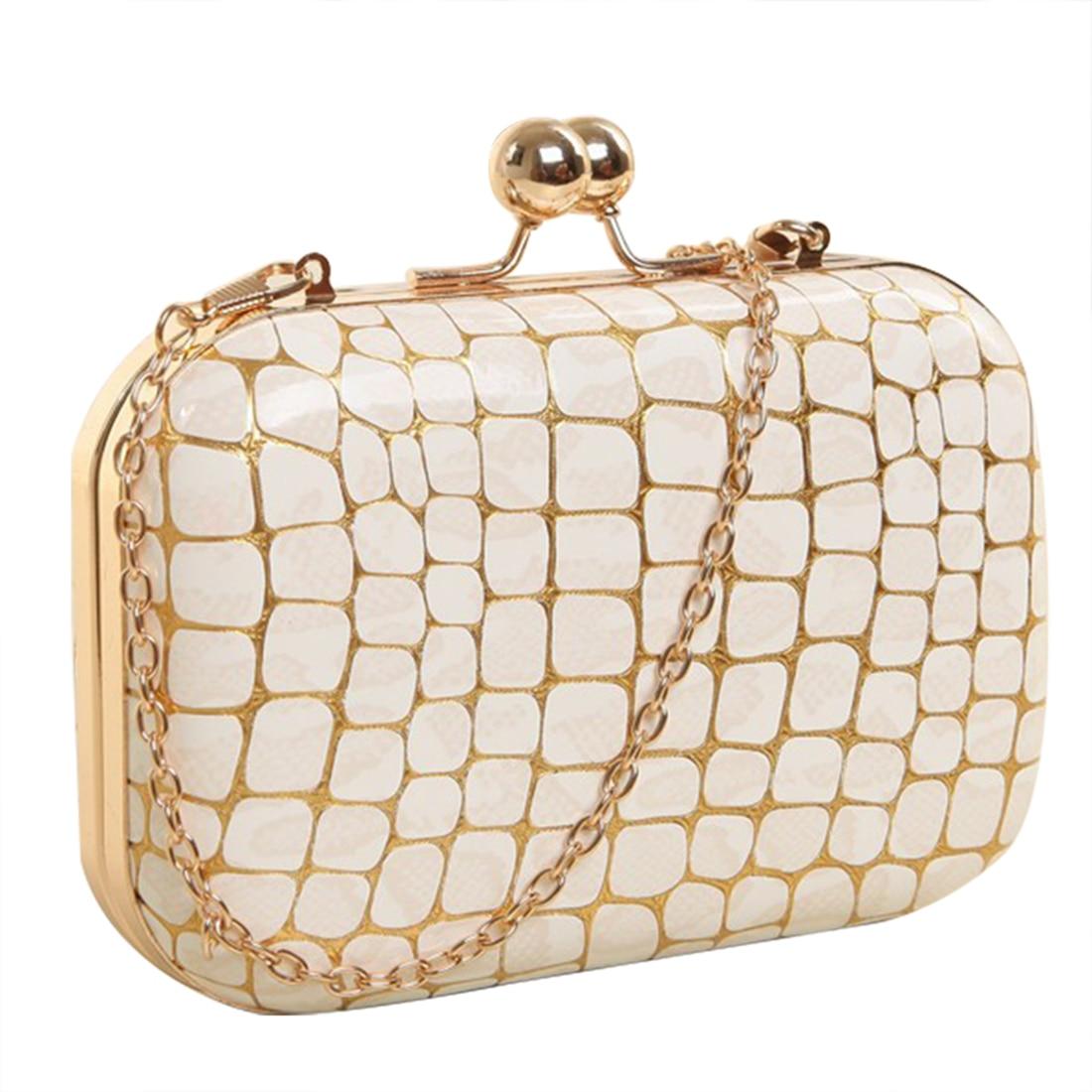 Hot Fashion Retro Stone pattern PU leather Womens mini evening bag fashion clutch banquet bag girls shoulder bag Messenger ba