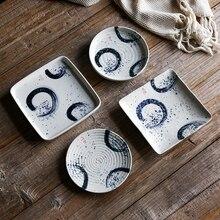 NIMITIME Ceramic Seasoning Dish Japanese Snack Food Sauce Restaurant Home Small dish