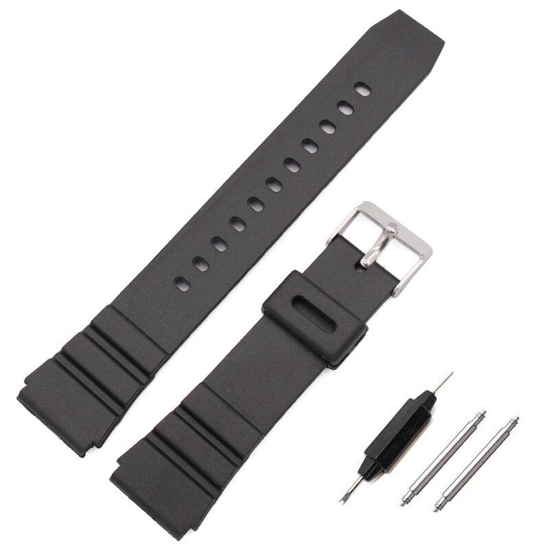 Bandas de reloj de goma HENGRC 18 20 22 mm Correa de banda de reloj - Accesorios para relojes - foto 2