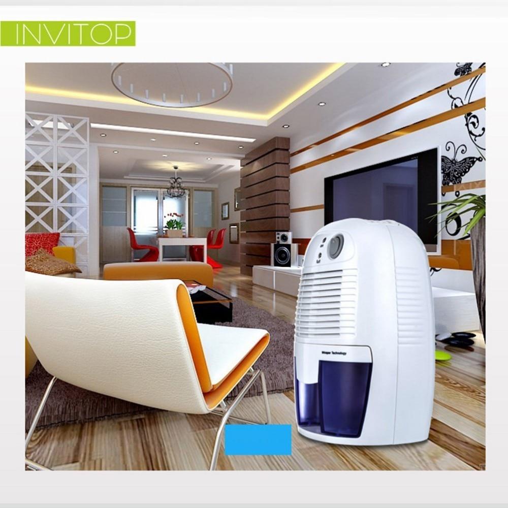 ФОТО Home Mini Dehumidifier 26W Electric Quiet Air Dryer 100V-240V Compatible Air Dehumidifier for Home Bathroom