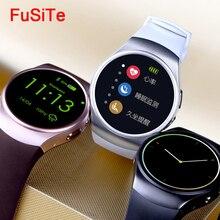 Kingwear kw18 Bluetooth Smart Touch Watch Heart Rate Whatsapp Waterproof Smartwatch Android Wear Smart Watch With Sim Card