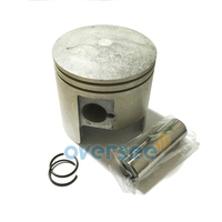 Aftermarket PISTON 66t 11631 01 93 For Yamaha Parsun Powertec 2stroke Outboard Engine