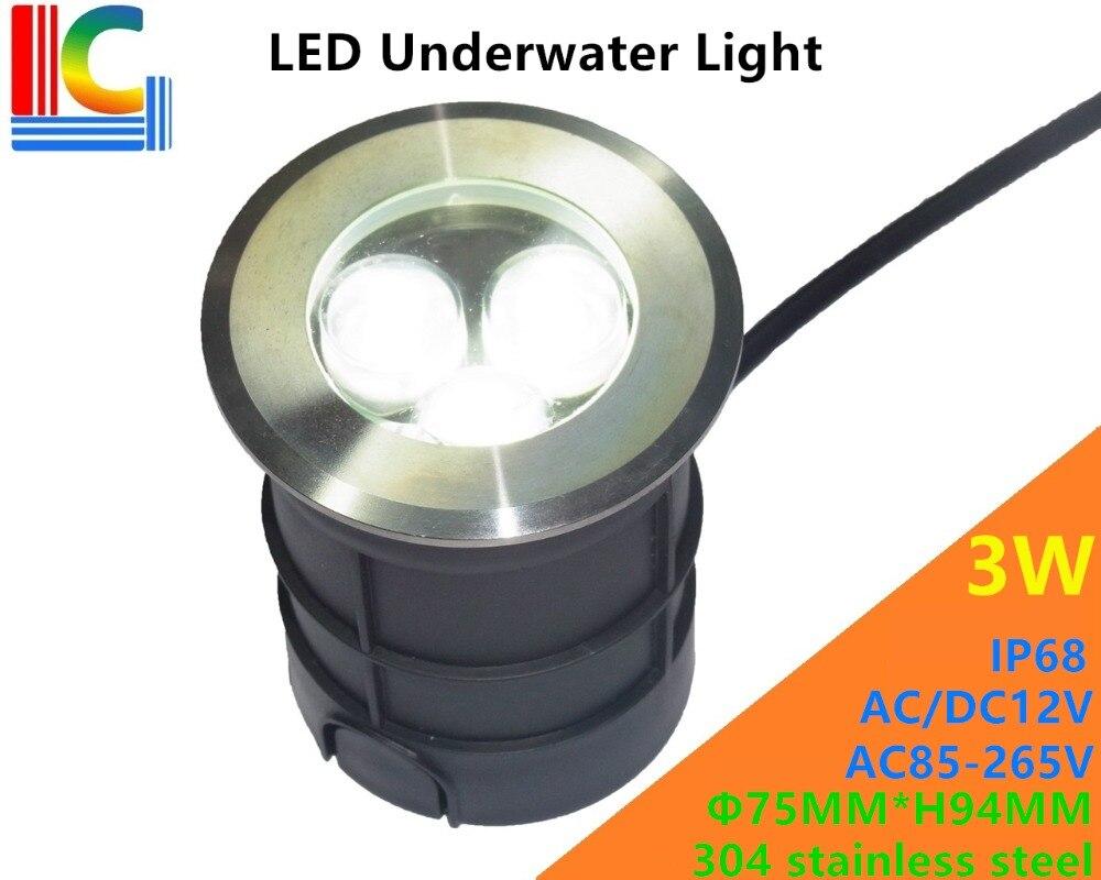 prova dip68 água ip68 piscina luzes lagoa lâmpadas fonte lâmpada