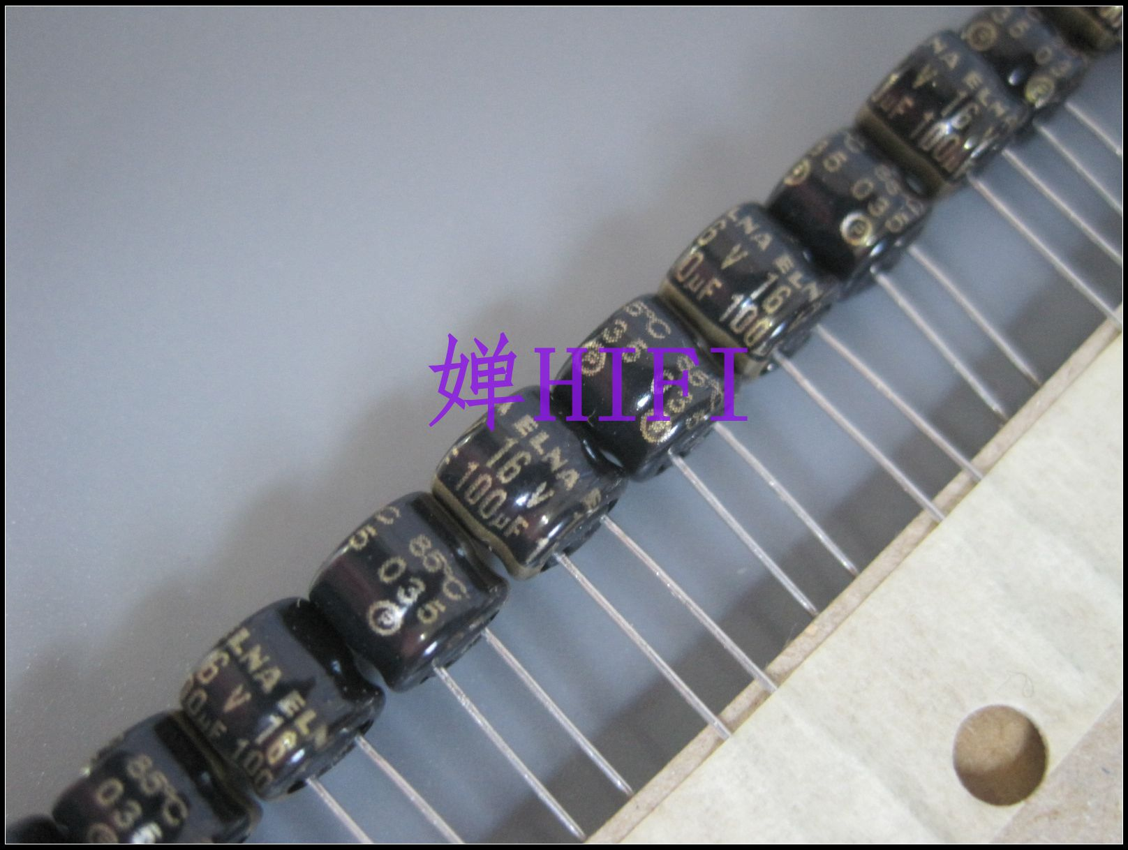 50pcs Elna Original Ra2 Black Gold  Electrolytic Capacitor 16v100uf 6x5 Free Shipping