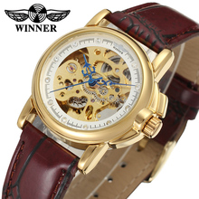 Winner Watch Newest Design Watches Lady Top Quality Watch Factory Shop Free Shipping WRL8011M3G5