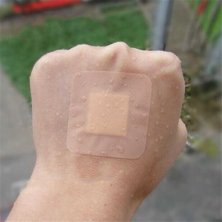 10 pièces grande taille Bandage hypoallergénique Non-tissé médical adhésif pansement bande aide Bandage grande plaie premiers secours