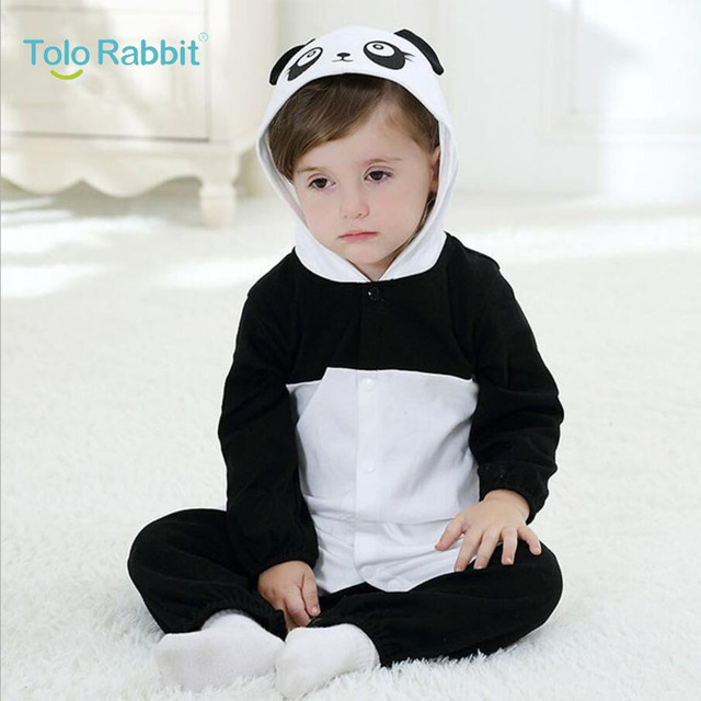 28ae99e81912 Baby Romper Cotton Panda Bebe Costume Newborn Baby Girls Clothing Toddler  Boy Jumpsuit Baby Kids Tracksuit Infant Baby Rompers
