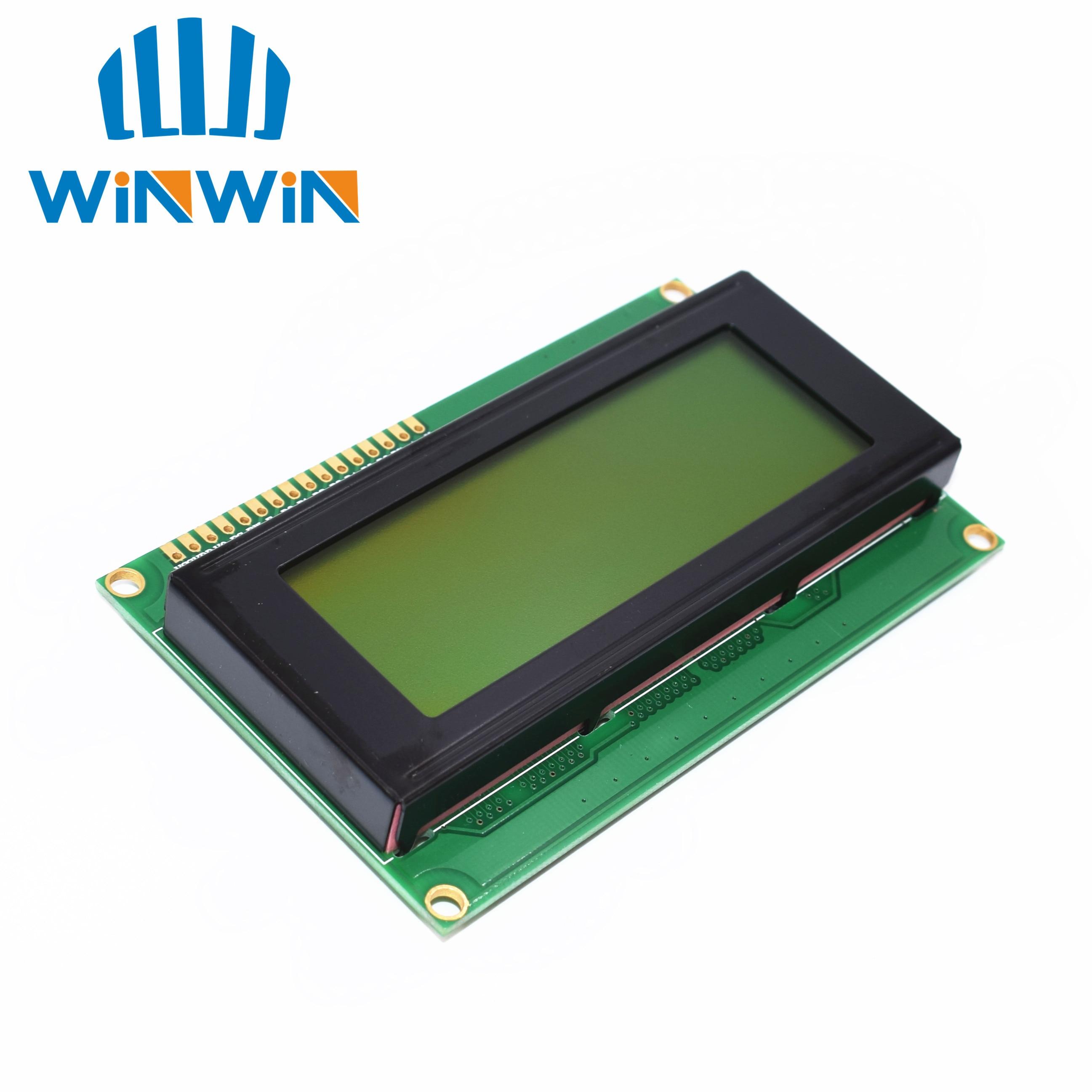 10pcs LCD Board 2004 20*4 LCD 20X4 5V Yellow-green Screen LCD2004 Display LCD Module LCD 2004