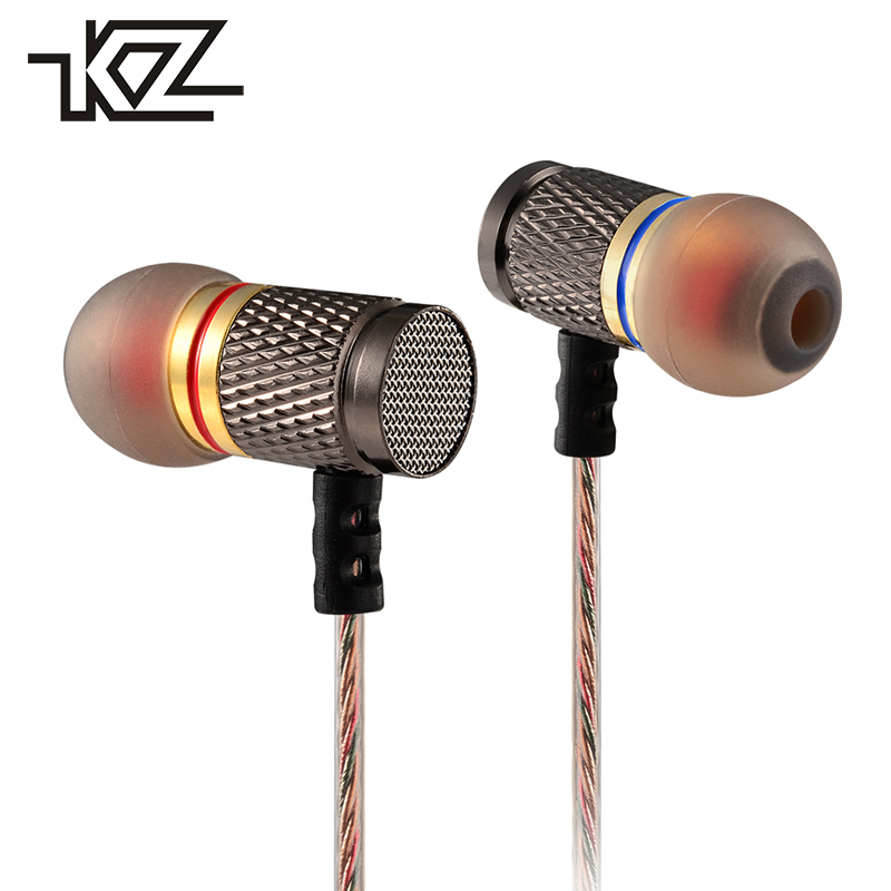 KZ EDR1 Wired In Ear In-ear Earphones For Phone iPhone Headset Headphone With Microphone Earbud Kulakl K Earpiece Hifi Player kz ed8m earphone 3 5mm jack hifi earphones in ear headphones with microphone hands free auricolare for phone auriculares sport
