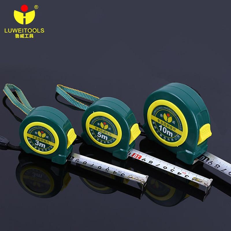3m/ 5m/ 7.5m/ 10m Measuring Roulette Tape Double Side Steel Tape Measure Flexible Rule Tapeline Retractable Measuring Tools