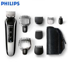 cf459ad30 Philips Multifuncional máquina de Cortar Cabelo QG3364/3371 homens  Barbeador Elétrico à prova d' água automática de moagem cabeç.