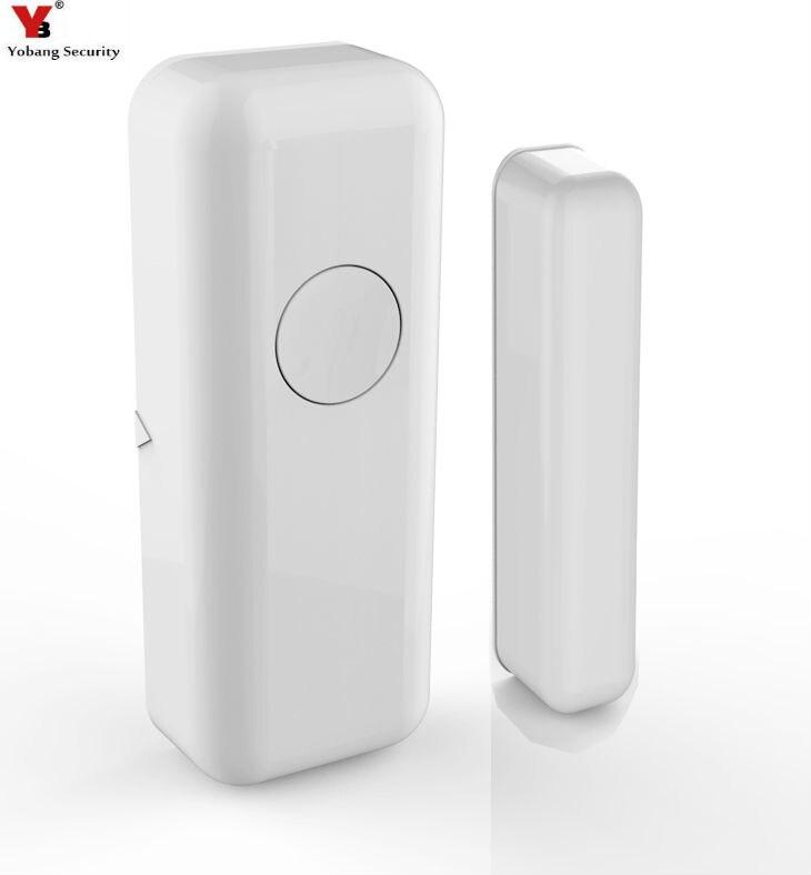 Yobang Security 433Mhz Wireless Door Sensor Door/Window Magnetic Sensor For Video Door P ...