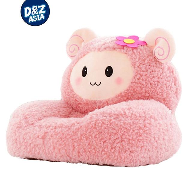 Childrenu0027s Cartoon Cute Lazy Sofa Kids Chair Seat Plush Sheep Toys Seat  Tatami Seat Washable Stuffed Toys