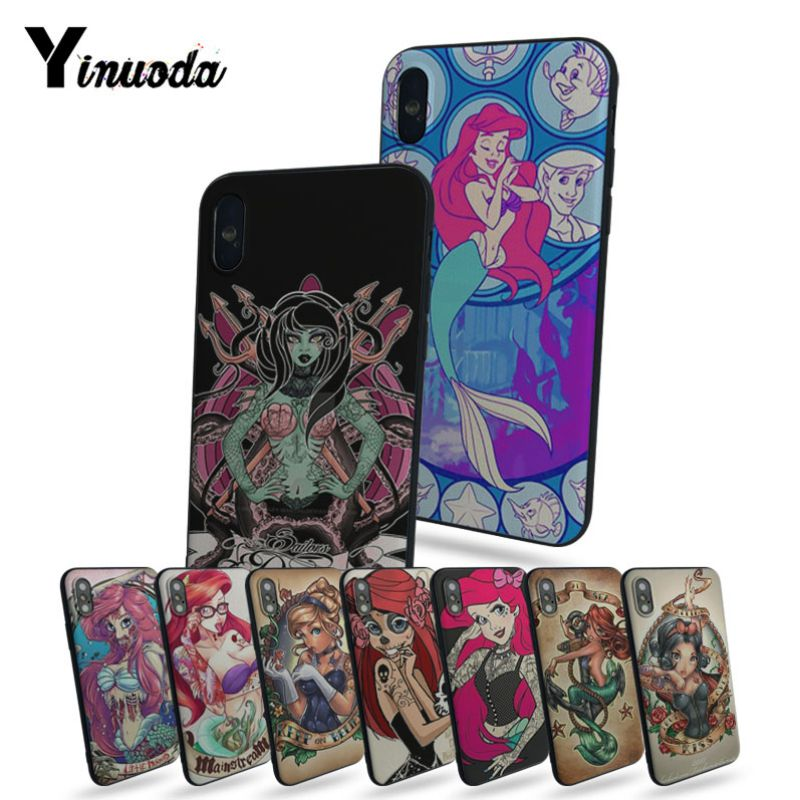 Disney Princess Ariel Little Mermaid Tattoo iphone case
