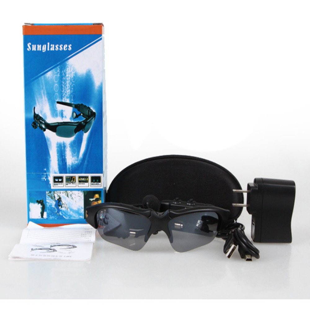 Профессиональный стерео Bluetooth очки могут слушать музыку Bluetooth телефон Glasse May11