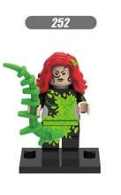 XH 252 Building Blocks Super Hero Deadshot Poison Ivy Catwoman Joker Superhero Models Children Bricks Toys