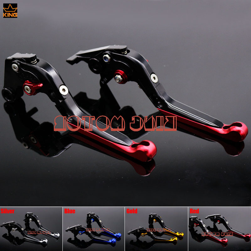 Hot Sale Motorcycle Accessories Adjustable Folding Extendable Brake Clutch Levers Red For HONDA CB650F CBR650F CB 650F 2014-2017  цена и фото