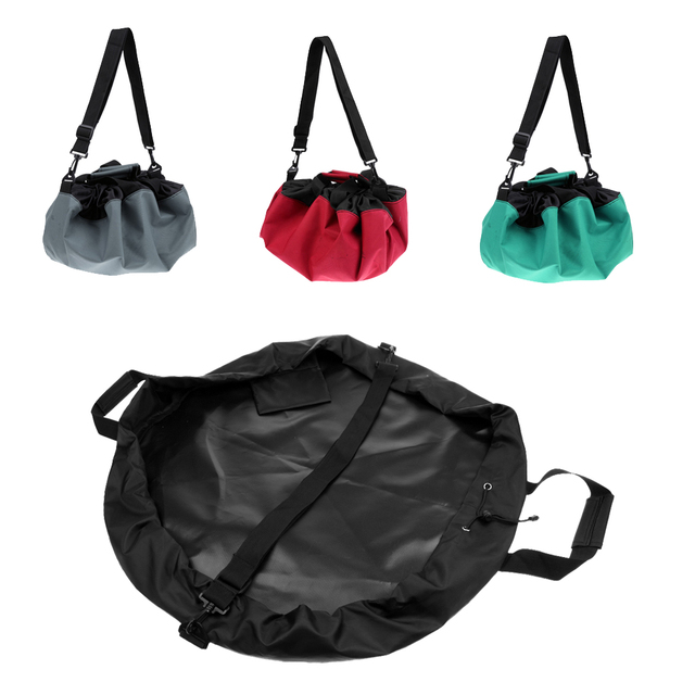 Deportes traje impermeable cambio Mat/Seco-bolsa con asas correas para seguridad Surf piragüismo escalada pesca Golf acce
