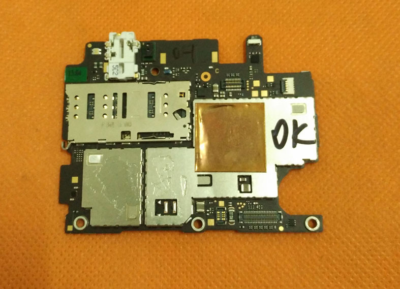 Used Original mainboard 3G RAM+16G ROM Motherboard for LeTV 1S X500 Helio X10 Octa Core 5.5 inch FHD Free shipping