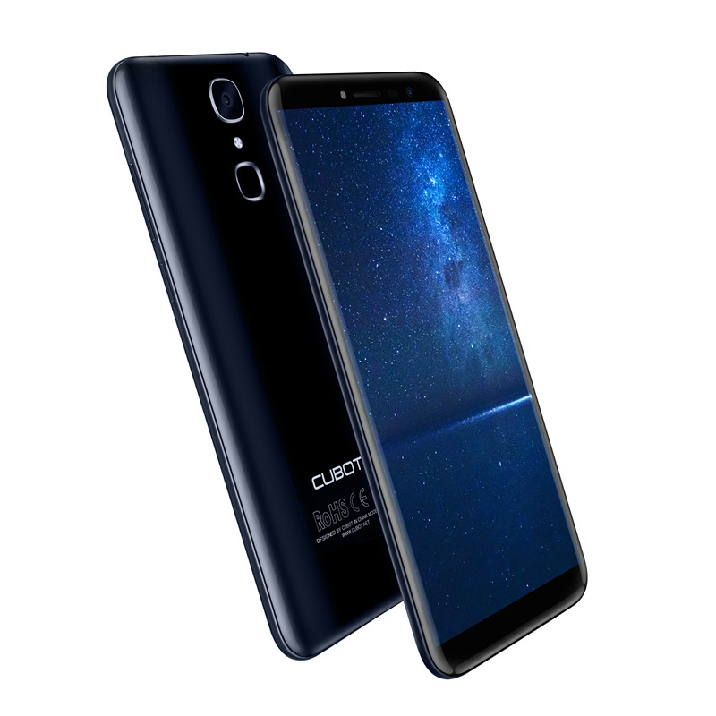 Cubot-X18-Fingerprint-57-HD-189-MT6737T-Quad-Core-3GB-RAM-32GB-ROM-Smartphone-13MP-Camera-Android-70-Celular-3200mAh-4G-LTE-1